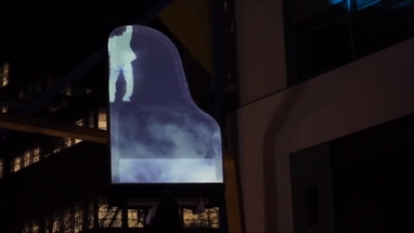 Projection Screen Aerial Piano Added To Our Global Roster | Scarlett
